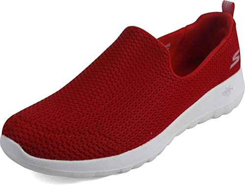 Skechers - Womens Go Walk Joy Running Shoes, Size: 11 B(M) US, Color: Red