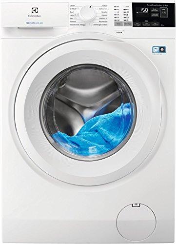 Electrolux EW6F482Y Lavatrice (Carico frontale, 8kg ,1200RPM A+++-20%, LCD), Bianco, Senza installazione