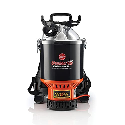 Product Image of the Hoover Commercial Lightweight Backpack Vacuum, C2401,Black