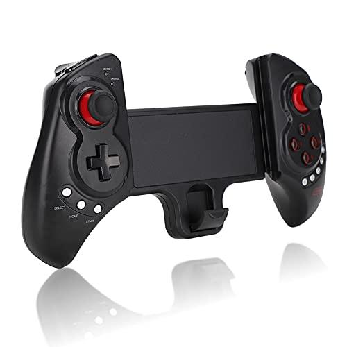 Lazmin Controller Gamepad, ergonomische 360-Grad-Lenkung mit Shoot Trigger Wireless Mobile Game Controller für iOS, Android, Telefone und Tablet