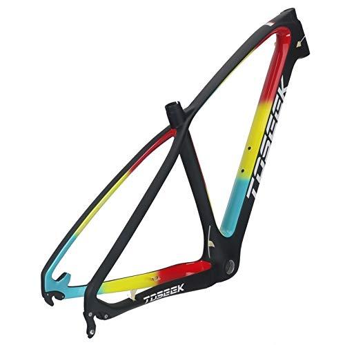 no brand Équipement Accessoires Vélo CTJ VTT Montagne Cadre vélo Suspension Plein T800 Fibre de Carbone Cadre de vélo, Taille: 29 x 19 Pouces