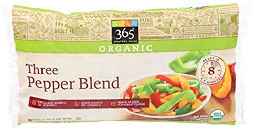 365 Everyday Value, Organic Three Pepper Blend, 16 oz, (Frozen)