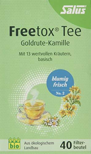 Freetox Tee Goldrute-Kamille Bio Filterbeutel, 40 St
