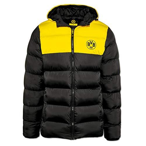BVB-Winterjacke schwarz/gelb für Herren XL