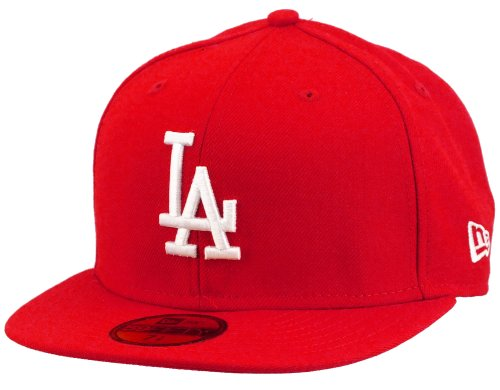 New Era Los Angeles Dodgers 59fifty Cap MLB Basic Red/White - 7...