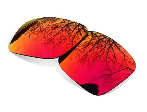 sunglasses restorer Lentes Polarizadas de Recambio Ruby Red para Oakley Montefrio