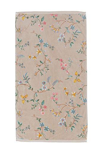 Pip Les Fleurs - Toalla (50 x 100 cm), color caqui