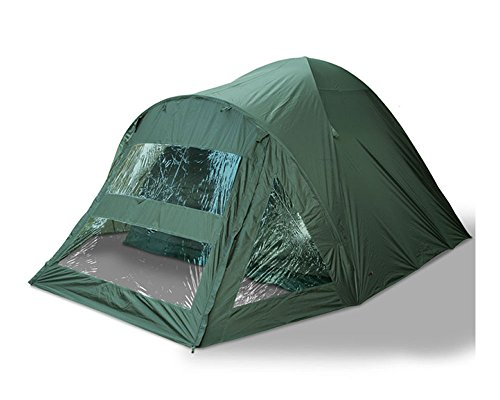 2 Man Double Skinned Fishing Bivy With Sewn In Groundsheet and Marauder Pegs