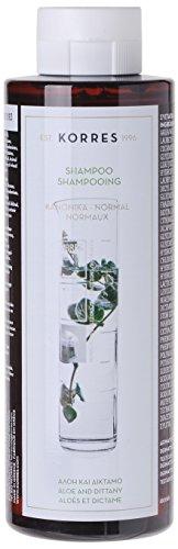 Korres Aloe und Dittany Shampoo für normales Haar,1er Pack (1 x 250 ml)