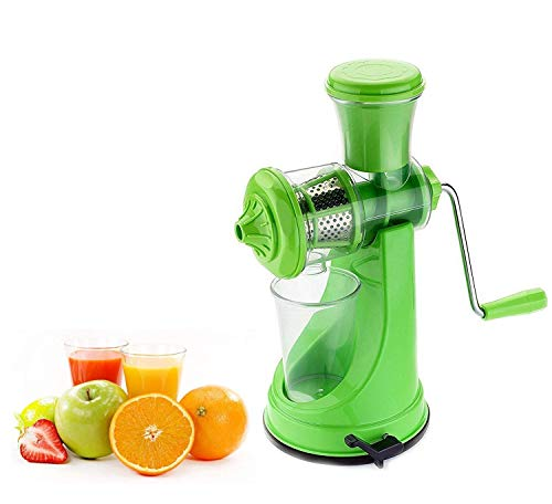 GOPINATHJI® Nano Hand Juicer for Fruits Manual Juicer Machine for Fruit and Vegetables, (Color Multi)