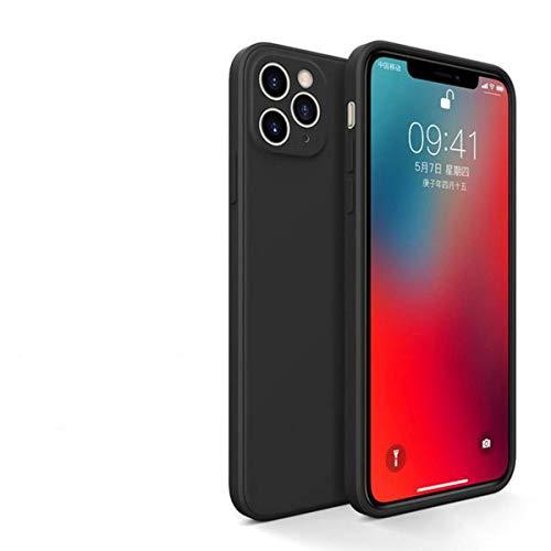 Nuevo caso para el iphone 12 pro caso cubierta cubierta de silicona borde recto para el iphone 12 11 pro Max Xr Xs Max 8 más caso se 2020