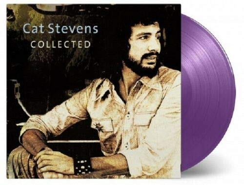 Best Of Cat Stevens 'Collected' 180 Gram Vinyl 2LP Factory SEALED Audiophile PURPLE Vinyl { NUMBER - # 22 }