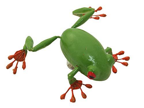 Coton Grenouille Vert – ERRO glubsch magnétique Yeux Animaux – Grenouille, grenouille aimant magnétique, magnétique. SEI pas de grenouille. Cadeau de Noël, cadeau d'anniversaire