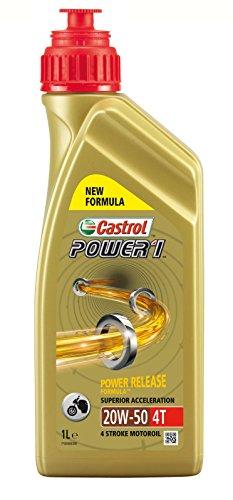Castrol Power1 4T 20W-50 Motorrad Öl 1l