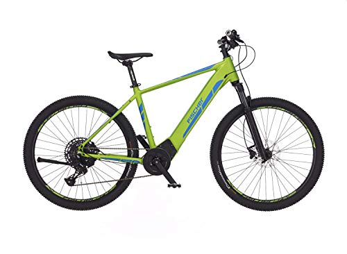 Fischer E-Mountainbike MONTIS 6.0i, E-Bike MTB, grün, 29 Zoll, RH 51 cm, Brose Mittelmotor 90 Nm, 36 V/504 Wh Akku