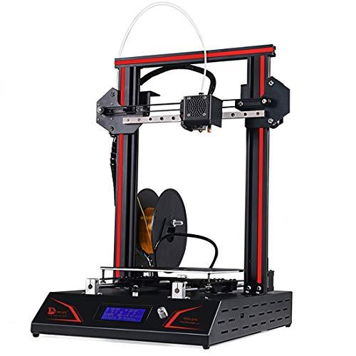 Luoshan. DMSCREATE DP5 360W 10-180mm / s velocità di Stampa Stampante 3D, Supporto autolivellamento/Scheda SD, Dimensioni di Stampa: 200 * 200 * 300mm