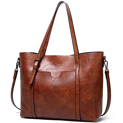 JBTFFLY Schulranzen Geldbörsen und Handtaschen für Frauen Vintage Schultertaschen Abendtaschen
