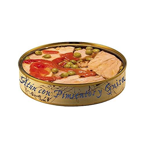 Conservering van aturair met paprika en handschoenen – blik van 280 g – conserveringsmiddelen (1 doos)