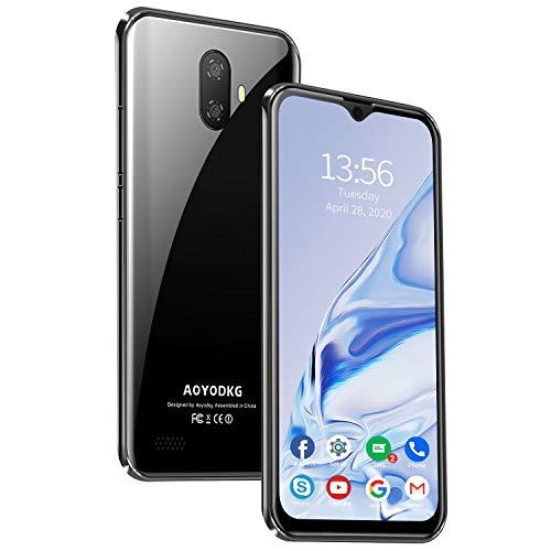 Smartphone Offerta Del Giorno, 4G WIFI, 3GB RAM+32GB ROM 128GB Espandibili, Android 9.0 Pie,5.5   HD Doppia Fotocamera,3400mAh,Dual SIM, GPS,Riconoscimento Facciale,Nero