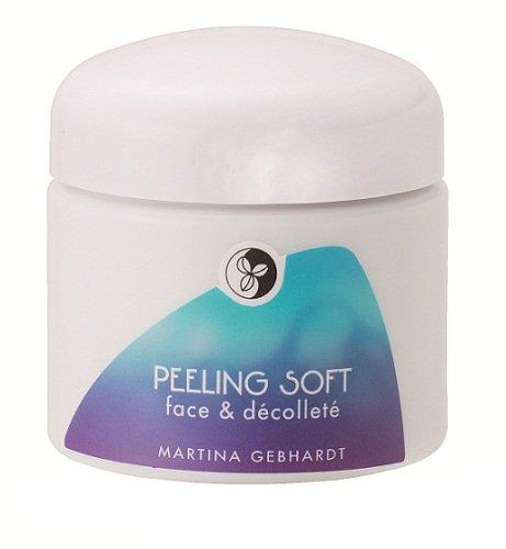 Martina Gebhardt Naturkosmetik Peeling Soft Face & Decollete 100 ml