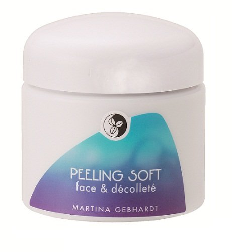 Martina Gebhardt Naturkosmetik Peeling Soft Face & Decollete 100 ml