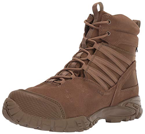 5.11 Tactical Men's Union Waterproof 6-Inch Work Boots, Shock Absorbing Insole, Dark Coyote, 41 EU Wide, Style 12390