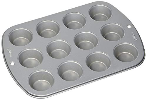 WILTON INDUSTRIES - Recipe Right 12-Cup Non-Stick Mini Muffin Pan