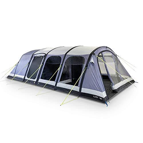 Kampa Dometic Studland 8 Air grau, 8 Personen Luft-Gestänge Zelt | Camping