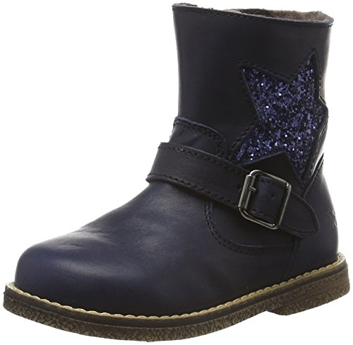 Clic! Mädchen CL-9085 Kurzschaft Stiefel, Mehrfarbig (Celtic Azul/Gl.Gr Azul), 28 EU