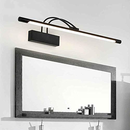 6W Wand Led Spiegel Zwart Dressing Make Voorverlichting met puur witte verlichting, draaibare badkamerspiegel LED Light Artpad