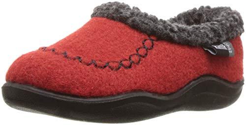 Kamik Baby COZYCABIN2 Slipper, red, 10 Medium US Toddler