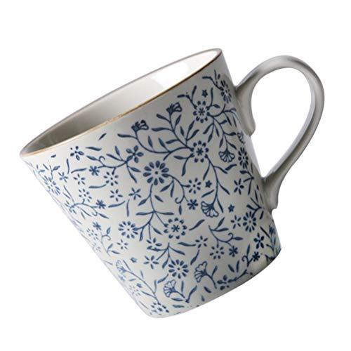 ifundom Taza de Cerámica Japonesa Taza de Té de Porcelana Taza de Té Divertida Novedad Regalo para La Madre del Maestro Mujeres Amantes de Los Amigos