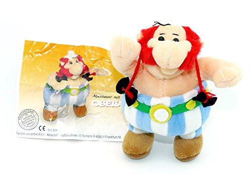 Kinder Überraschung Obelix aus dem Maxi Ei als Plüschfigur (Asterix und Obelix)