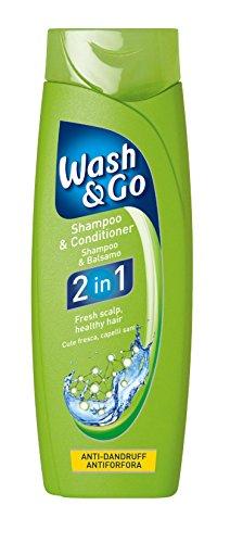 Wash & Go 2in 1Anti-Schuppen-Shampoo Und Pflegespülung X 9Flaschen