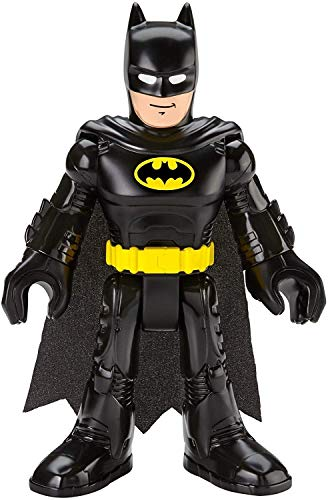 Fisher-Price Imaginext DC Super Friends Batman XL, Extra-Large Figure with Fabric Cape for Preschool Kids Ages 3-8 Years