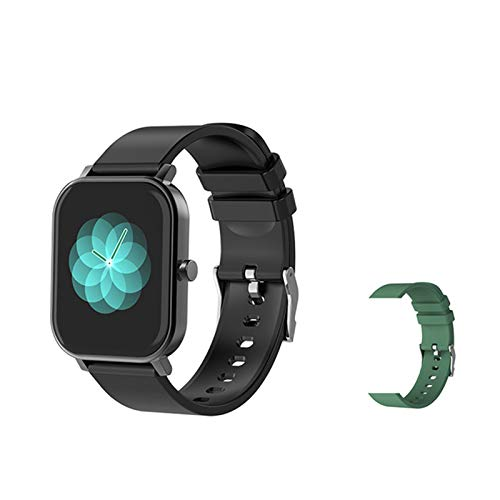 LDJ A Estrenar S10 Tarifa Cardíaca Smart Watch Men's 1.69 Pulgadas Fitness Tracker IP68 Impermeable Bluetooth Smart Relk Mujer Smartwatch para Android iOS,C