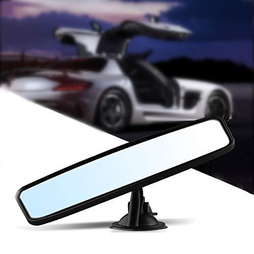 GTFHUH Auto-Innenrückspiegel, Auto Rückspiegel Universal-Weitwinkel mit Sauganlage Auto Rückspiegel