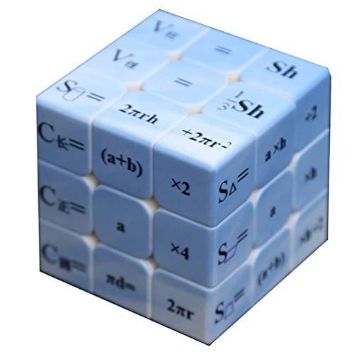 Cubo mágico Fórmula matemática 3X3 Smooth Rompecabezas La mayoría de Juguetes educativos para Mejorar efectivamente concentración de los niños y Capacidad de Respuesta.