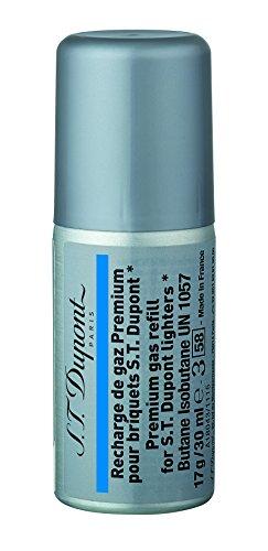S.T.Dupont デュポン ガスボンベ レフィル 30ml ブルー 青 ラベル
