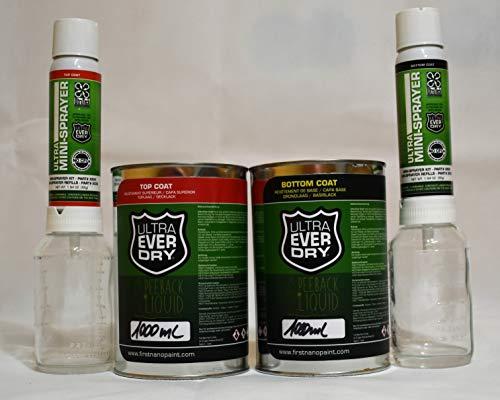 Ultra Ever Dry Set Nano Versipack egelung 2Mini Sprayer + Bottom y TOP...
