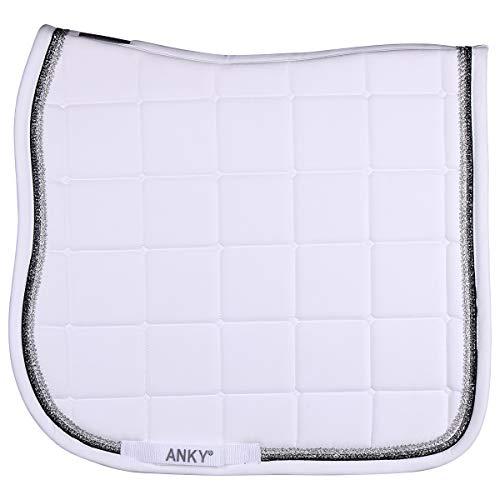 Anky - Alfombra de asiento para coche, color blanco