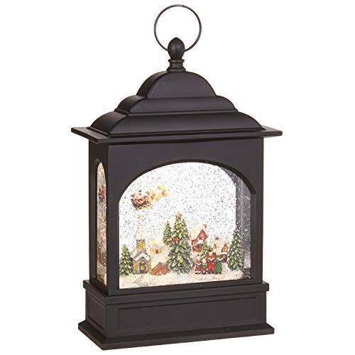 Raz Imports Holiday Water Lanterns 11' Flying Santa Lighted Water Lantern - Premium Christmas Holiday Home Decor