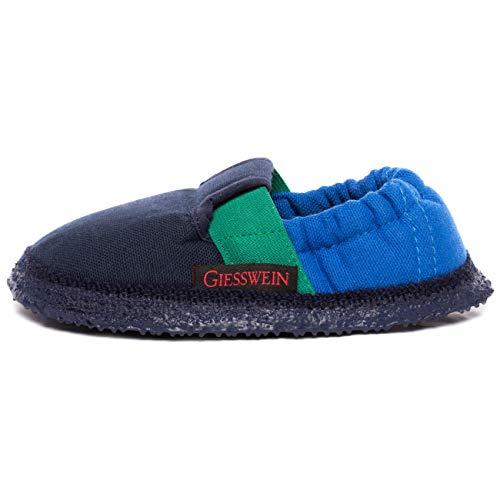 Giesswein Aichach, Pantofole Unisex - bambino, Blau (548 / dk.blau), 38