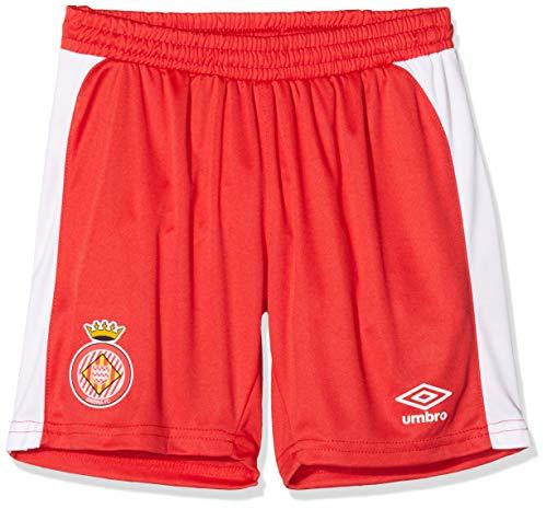 Girona F.C. 90088 T-Shirt 1. Ausrüstung, Unisex, Kinder, Rot, 14 Jahre