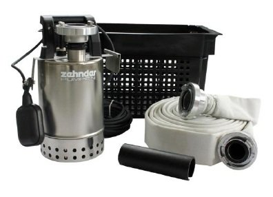 Schmutzwasserpumpe Hochwasser Flut Set Zehnder Pumpe E-ZW 65A Made in Germany