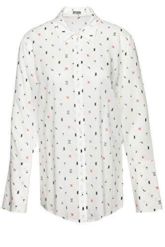 Drykorn Damen Bluse Charlee Weiß 40