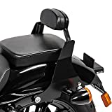 Sissy Bar for Harley Davidson Sportster 883 Iron 09-20 Backrest black