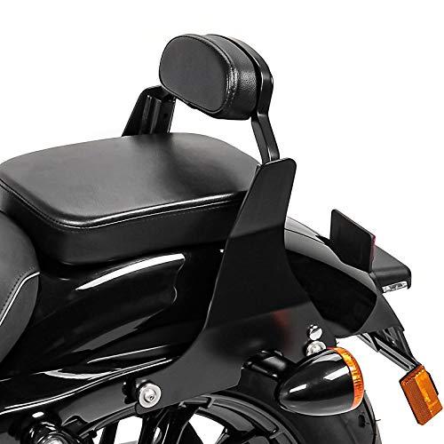 Sissy Bar für Harley Davidson Sportster 883 Low 04-10 Rückenlehne schwarz