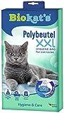 Biokat's XXL, bolsas desechables - Para colocar en el arenero para gatos - Cambio higiénico y sencillo de la arena para gatos, 12 Packs of 12 unidades