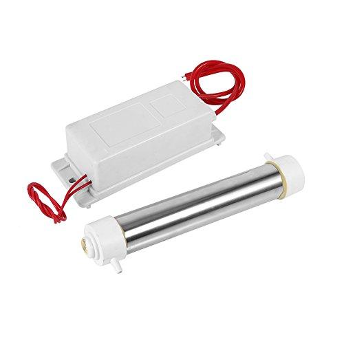 PBOHUZ Generatore di ozono-220V 3g Generatore di ozono a Tubo di Quarzo Bianco per purificatore d'Aria e detergente per sterilizzatore Nuovo